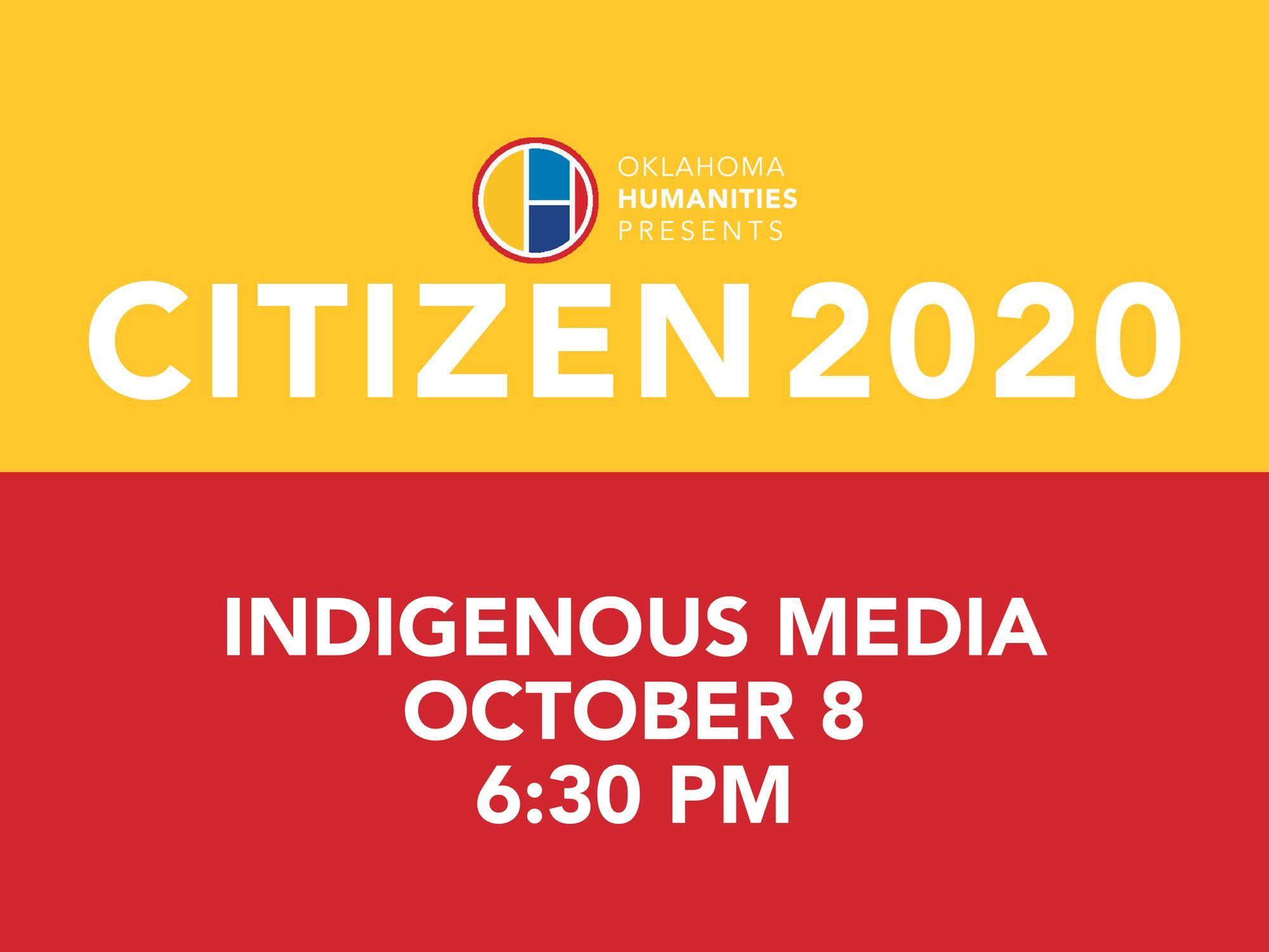 Citizen 2020 - Indigenous Media Initiative Event Image