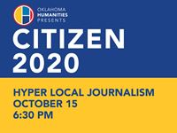 Citizen 2020 - Hype-Local Journalism Town Hall Initiative Event Image
